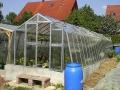 VARIANT L-W prodloužení skleníku, prosklení - sklo HELIOS