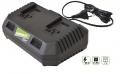 Nabíječka na 2x Li-ion baterii 20 V, Verdemax