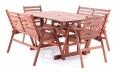 Dřevěný zahradní nábytek MONROO COMBI VeGA 6
