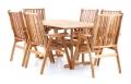 Dřevěný zahradní nábytek NEVADA VeGA 6