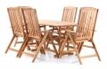 Dřevěný zahradní nábytek QUEEN VeGA 6