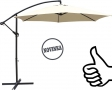 Slunečník s kličkou VeGAS 300 - béžový