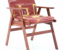 Dřevěný zahradní nábytek MERILIN 6 + luxusní sedáky ZDARMA